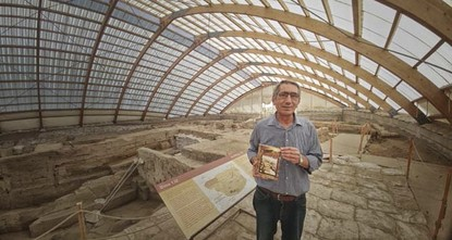 pThe book Protecting Çatalhöyük, written by Sadrettin Dural, 54, from Konya province about the nearly 9,000-year-old settlement of Çatalhöyük, is used as a supplementary textbook in Binghamton...