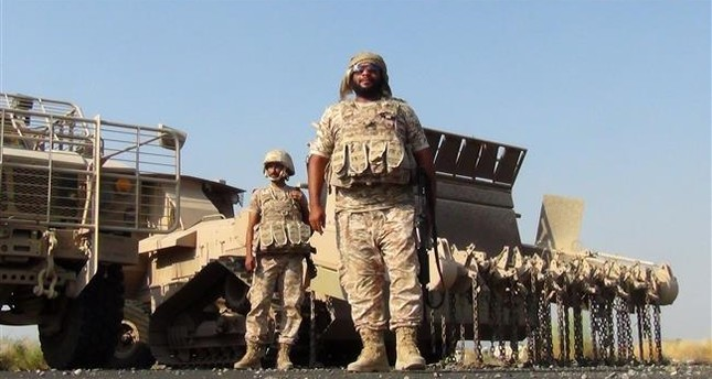 جنود إماراتيون في سقطرى اليمنية