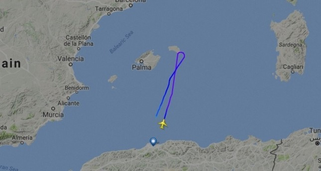 Missing Air Algerie flight to Marseille reportedly lands safely in Algeria