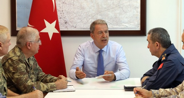 Turkish defense chief on Syria safe zone: No more time to waste, Turkey ready to take action