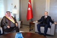Erdoğan receives Bahraini FM in Istanbul, discuss Qatar row