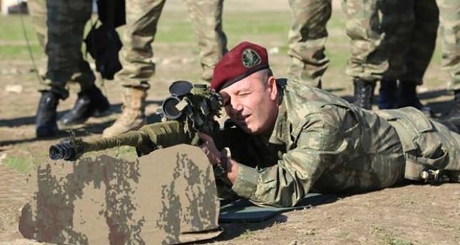 الفريق زكائي آق سقاللي قائد القوات الخاصة التركية