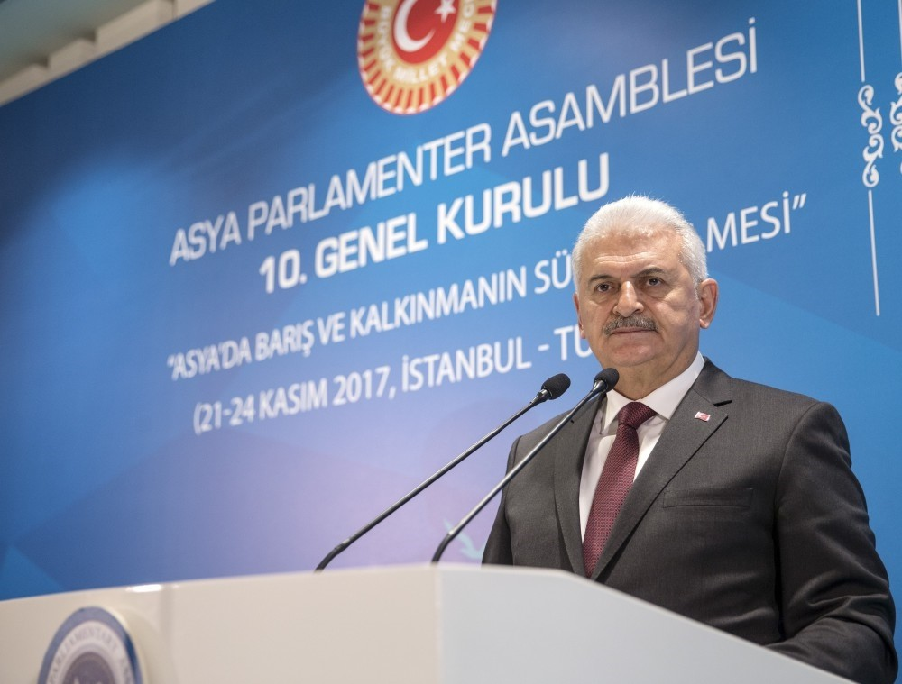 Prime Minister Yu0131ldu0131ru0131m said that Turkey took over the role of the rotating presidency of the APA from Cambodia since it is a country trying to take an active role in international organizations and global platforms.