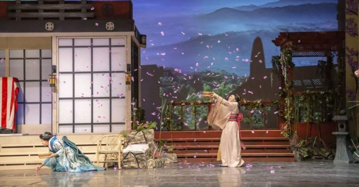 A scene from ,Madama Butterfly., (AA Photo)