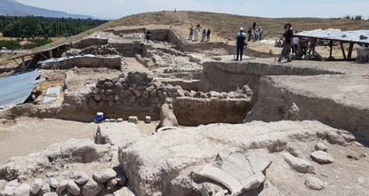 Ancient Hellenistic temple unearthed in central Turkey
