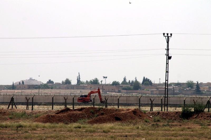 Aku00e7akale border in Turkey's southeastern u015eanlu0131urfa province (IHA File Photo)