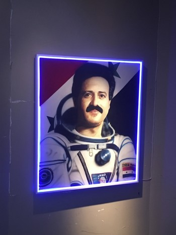 Astronaut Muhammed Ahmed Faris, the first Syrian to go to space, came to  Istanbul as a refugee in 2012 because of the civil war in Syria.