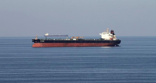 Oil tankers pass through the Strait of Hormuz, Dec. 21, 2018.