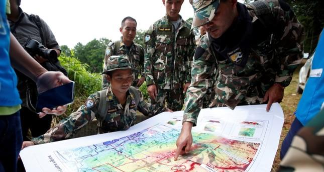 تايلاند تطلق عملية بمشاركة دولية لإنقاذ أطفال الكهف