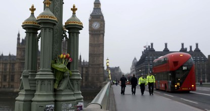pBritish police officers will be linking hands with members of a Muslim youth group on a London bridge to mark last week's attack outside Parliament that killed four people./p  pThe Metropolitan...
