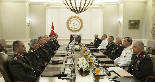 تركيا.. اجتماع استثنائي لمجلس الشورى العسكري الأعلى للمرة الثانية منذ محاولة الانقلاب