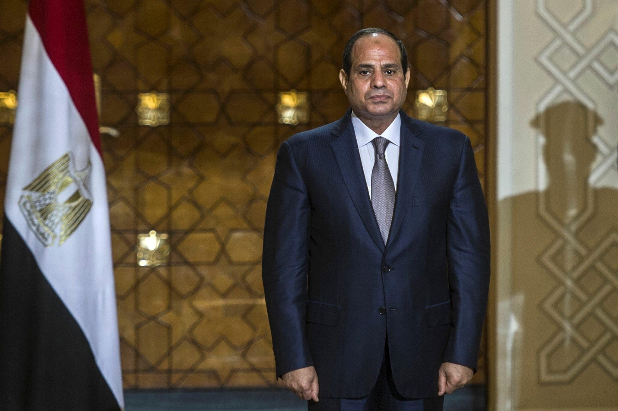 Egyptian coup leader al-Sisi