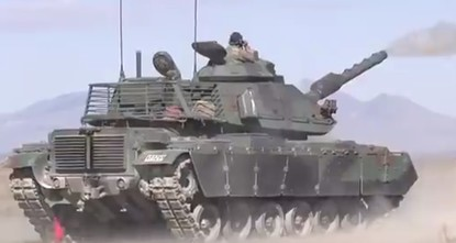 Turkish defense industry produces ammunition for domestically developed tanks