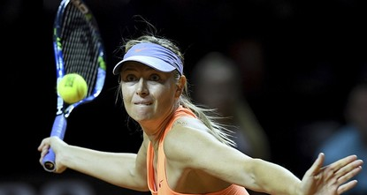 pMaria Sharapova lost in the semi-finals in Stuttgart on Saturday, her controversial comeback from a 15-month doping ban ending in defeat to one of her biggest critics./p