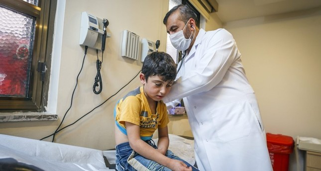 Doctors Worldwide offers medical care to Syrian refugees at Bezmialem University Hospital in Istanbul.