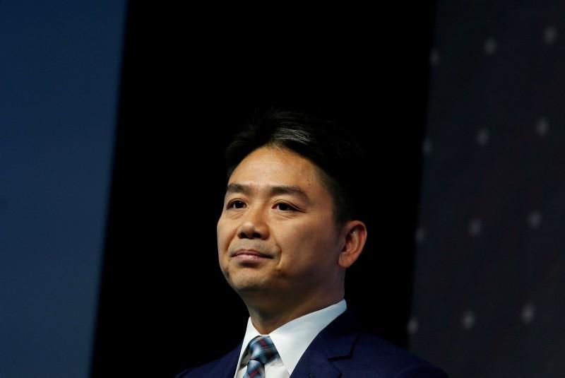 JD.com founder Richard Liu attends a business forum in Hong Kong, China, June 9, 2017. (REUTERS Photo)