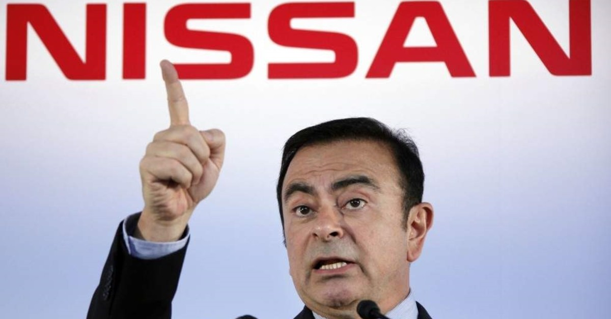 In this May 11, 2012, file photo, then Nissan Motor Co. President and CEO Carlos Ghosn speak during a press conference in Yokohama, near Tokyo. (AP Photo)