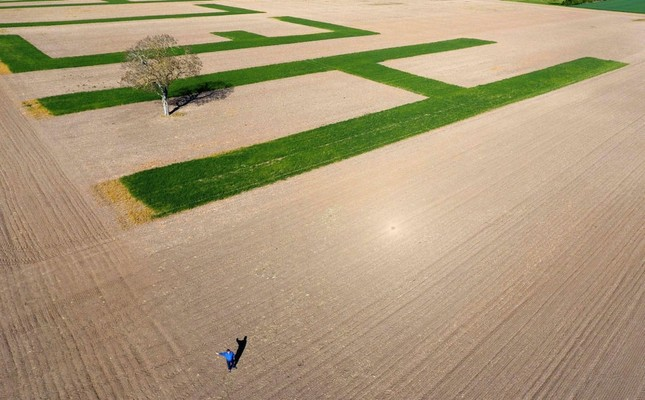 French farmer sends desperate message as election nears