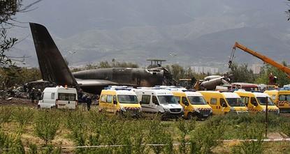 257 dead as military plane crashes in Algeria