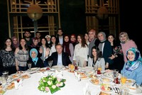 President Erdoğan and First Lady host pre-dawn meal for students at presidential complex