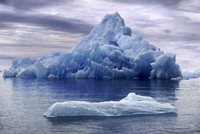 Melting icebergs emitting tons of methane into atmosphere