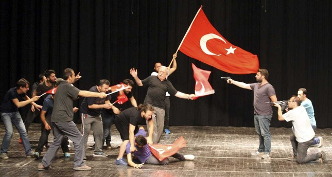 July 15 saga comes to stage in Ankara