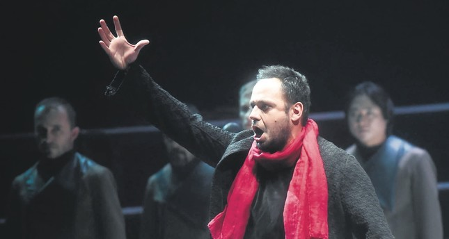 "Murat Karahan performs Manrico in ""Il Trovatore."""
