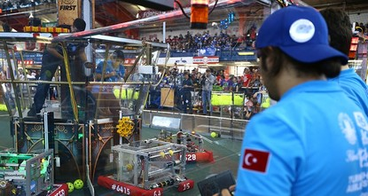 pA student team from Gültepe Vocational and Technical high school won two awards in a robotics competition that comprised of 48 teams and took place in New York City. The competition was organized...