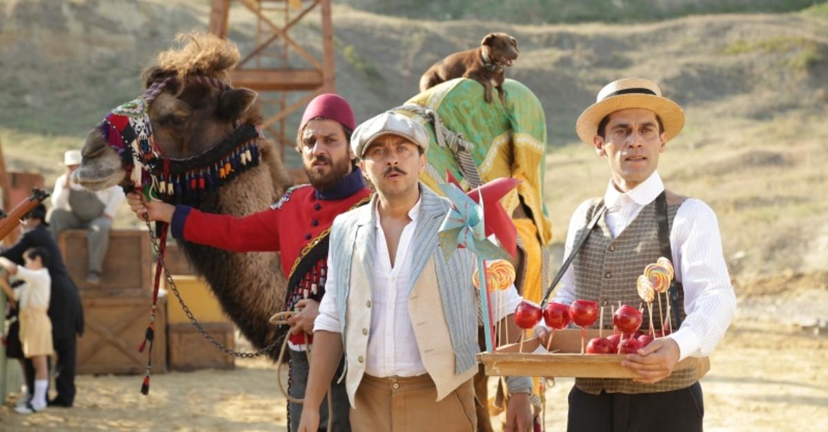 A still image from the movie 'Turkish Ice Cream.'