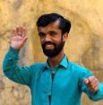 Rozi Khan, 26, a waiter and a lookalike of Hollywood's actor Peter Dinklage, who plays a character of Tyrion Lannister in the tv series ,Game of Thrones,, poses for a photograph in Rawalpindi, Pakistan April 28, 2019. (REUTERS Photo)