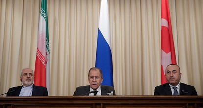 pA summit between foreign ministers of Turkey, Russia and Iran will take place in two weeks in Astana, Iranian Foreign Minister Javad Zarif said Monday./p  pIn two weeks in Astana, the three...