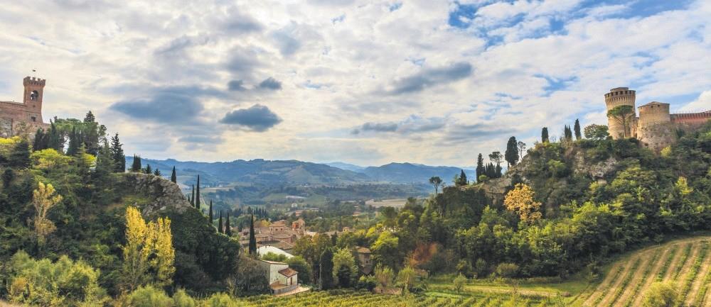 General view from Emilia Romagna region
