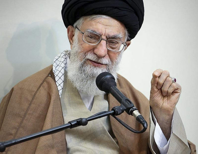 This Tuesday, Jan. 2, 2018 file photo shows Iran's Supreme Leader Ayatollah Ali Khamenei in Tehran. (AP Photo)