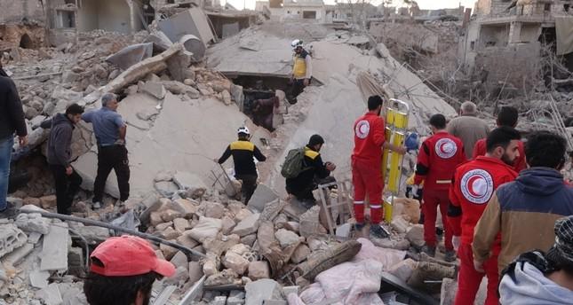 مقتل طفلين في استهداف النظام السوري لمدرسة بمناطق خفض التصعيد