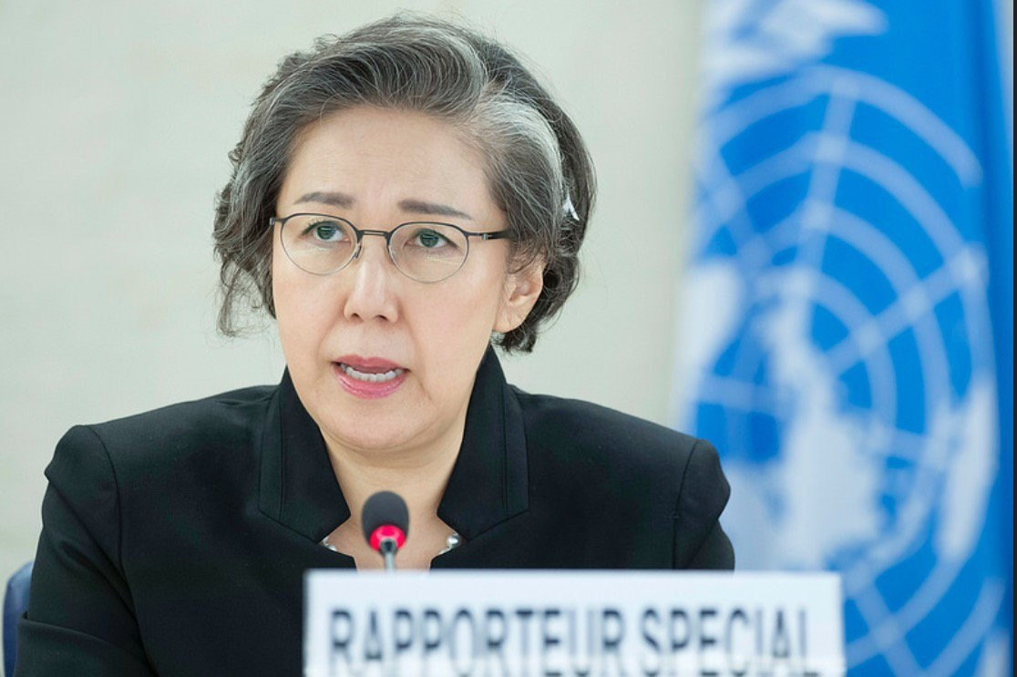 UN human rights investigator Yanghee Lee says she was denied to access Myanmar. (FILE Photo)