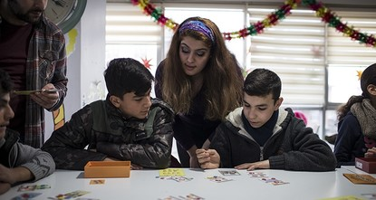 pAcross Turkey, Al Farah (My Happiness) Child and Family Support Centers are offering psychological and social support to children and families who are victims of war and violence./p