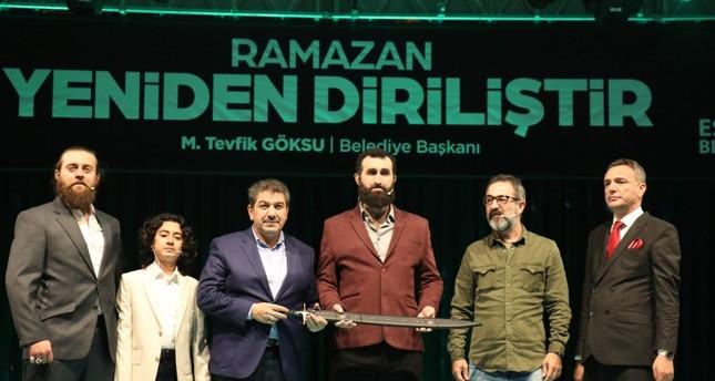 فعاليات رمضانية بمشاركة أبطال قيامة أرطغرل في إسطنبول