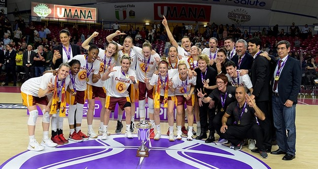 Galatasaray women's basketball team crowned EuroCup champions