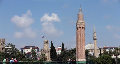 Discovering the wonders of Yivli Minare Mosque in Turkey's Antalya