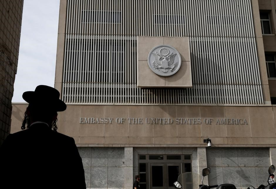 US Embassy in Tel Aviv (Reuters Photo)