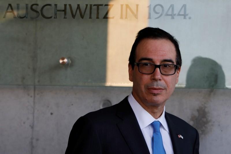 The United States Secretary of the Treasury Steven Mnuchin is seen on Oct. 26, 2017. (AFP Photo)