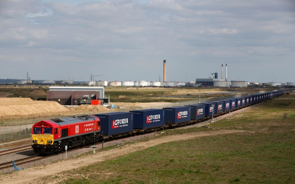 The first-ever freight train from Britain to China started its mammoth journey on April 10, along a  modern-day u2018Silk Roadu2019 trade route as Britain eyes new opportunities after it leaves the European Union.