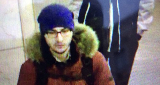 A still image of suspect Akbarzhon Dzhalilov walking at St Petersburg's metro station is shown in this police handout photo obtained by 5th Channel Russia April 4, 2017. (Reuters Photo)