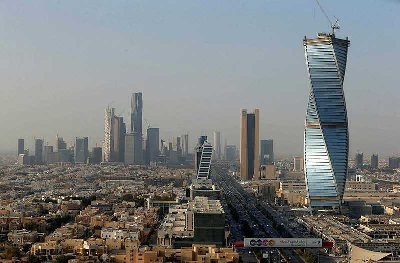 This file photo shows a general view of Riyadh.