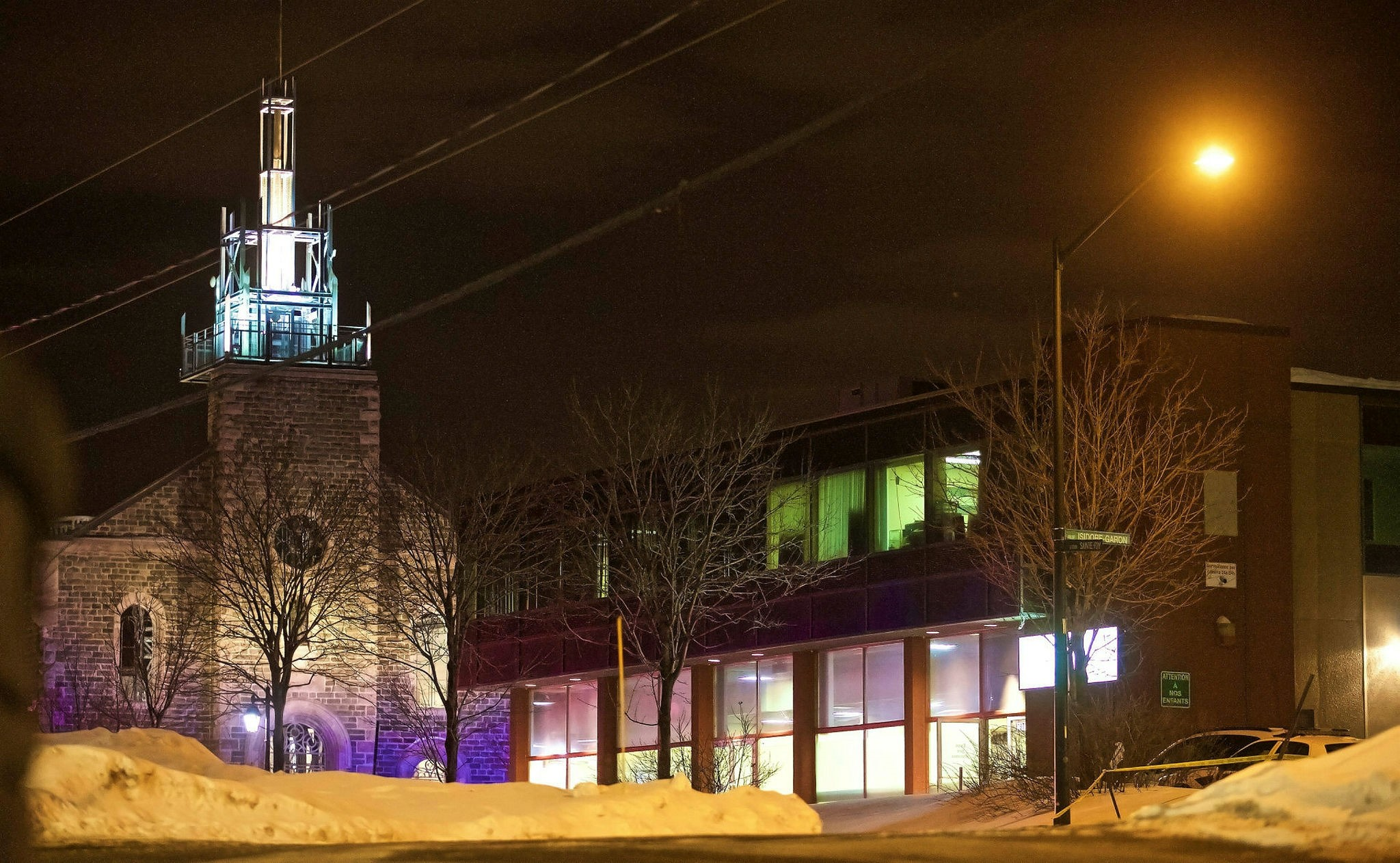 The Quebec Islamic Cultural Centre has been targeted in a series of violent attacks since January.