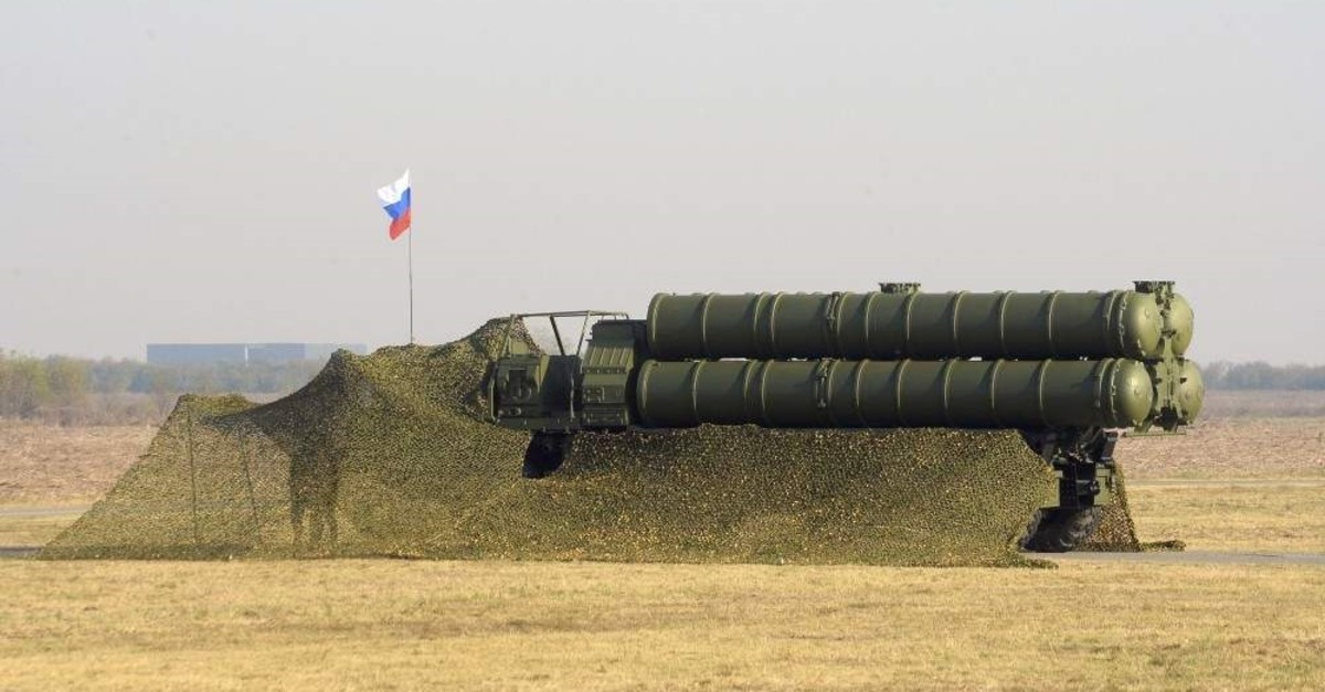 In this photo provided by the Serbian Presidential Press Service, Russian S-400 systems display during joint air defense drills at the military airport Batajnica, near Belgrade, Serbia, Oct. 25. 2019. (Serbian Presidential Press Service via AP)