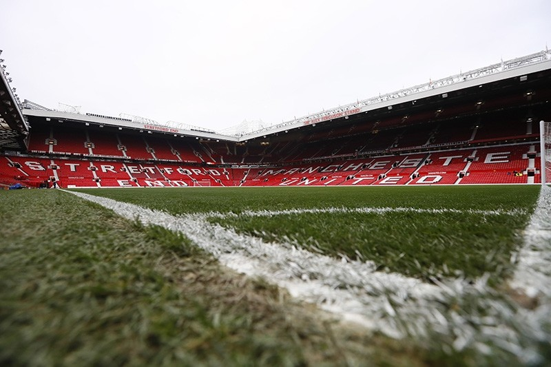 General view of Old Trafford before the match on Dec. 31, 2016. (Reuters Photo)