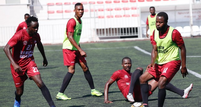 Tricked by human traffickers and brought to Turkey with dreams of playing for Turkey's top football clubs, these African footballers try to get their attention with a team they formed under the auspices of Fatih Municipality.