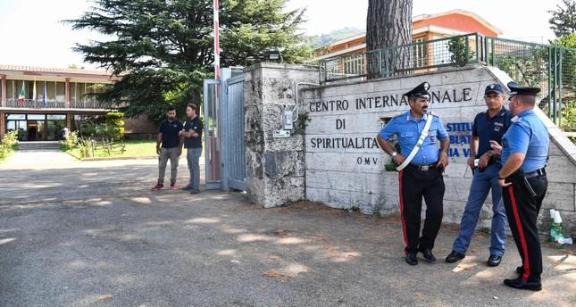 عناصر من الشرطة الإيطالية (الفرنسية)