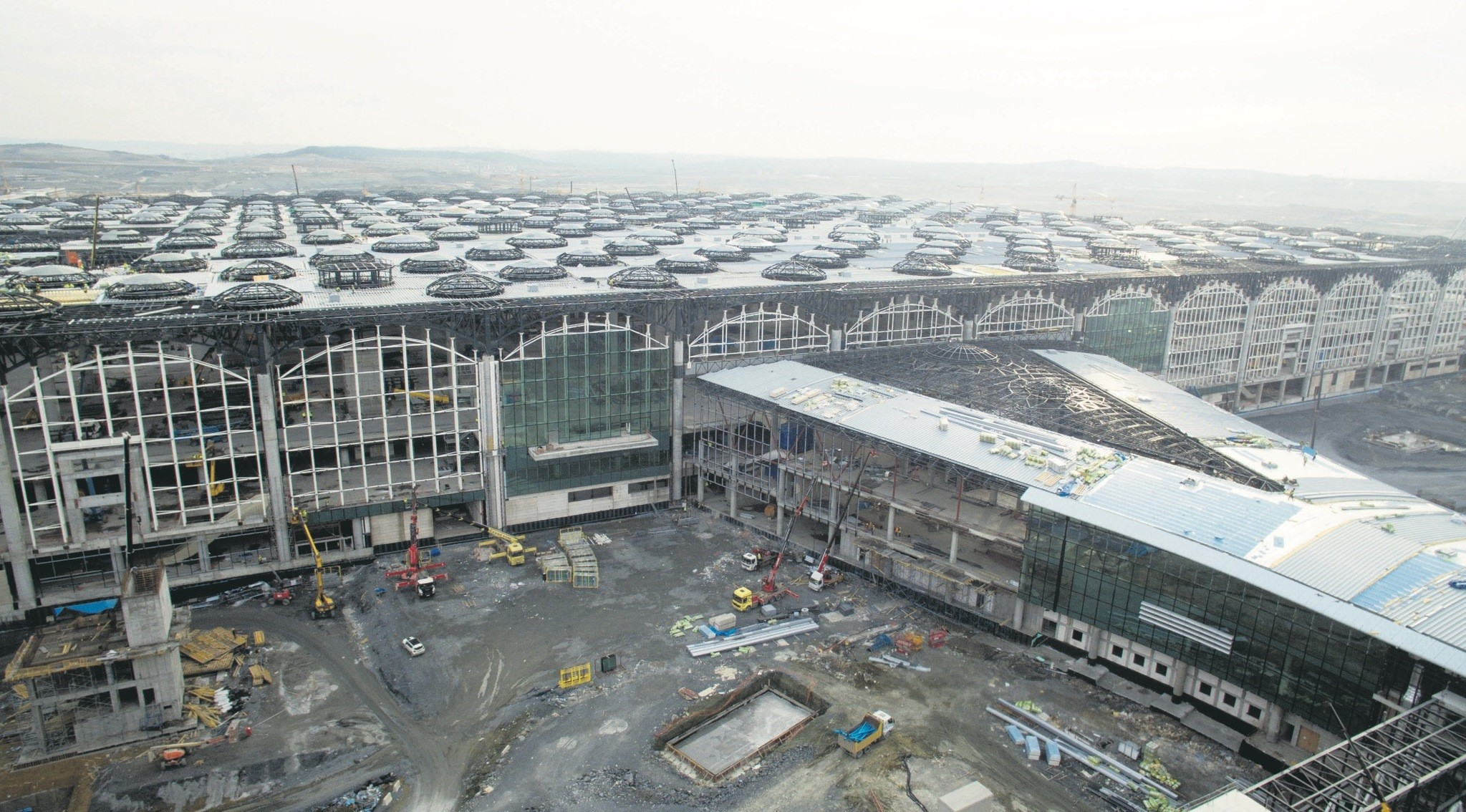 The first phase of Istanbul New Airport will be operational on Oct. 29, 2018.